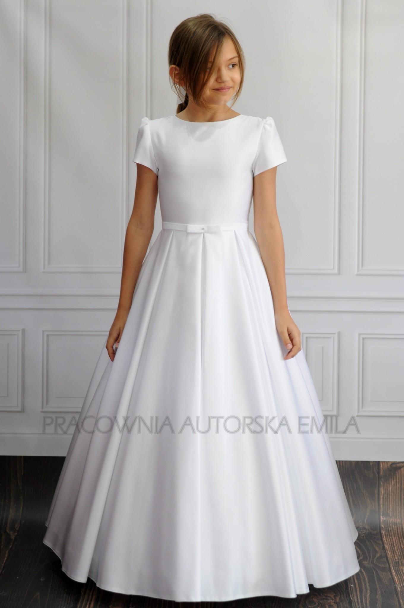 fcd2ffa53d Demi sukienka komunijna - Pracownia Autorska Emila