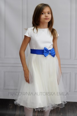 Emma Ecru sukienka dla druhenki