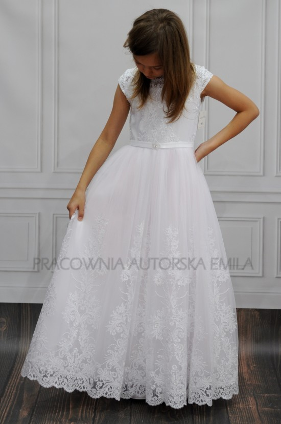 Benitka sukienka komunijna