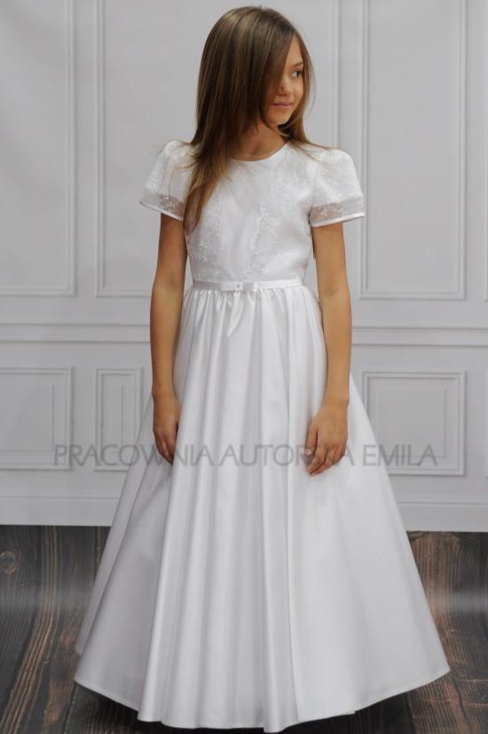 Amber sukienka komunijna