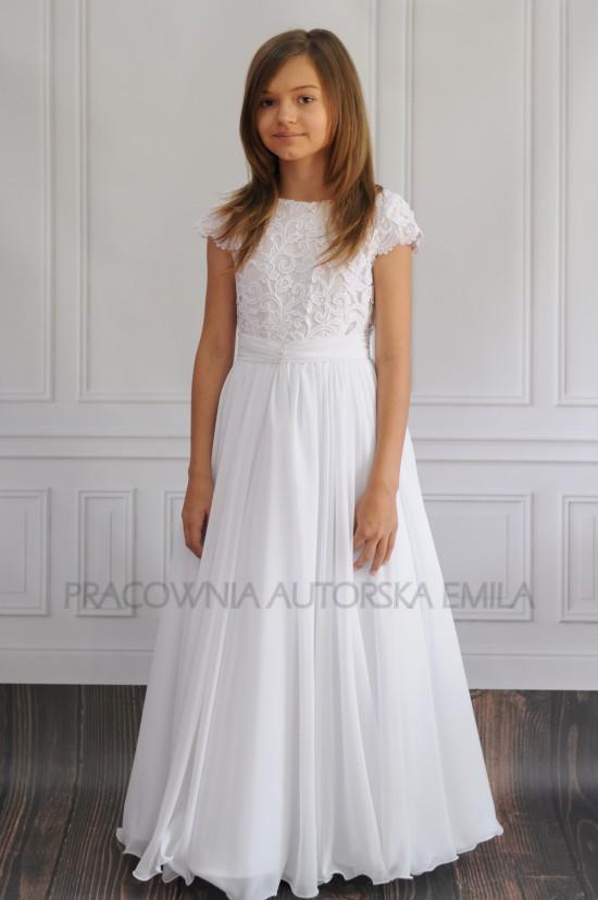 76159d0920 Agnes sukienka komunijna - Pracownia Autorska Emila